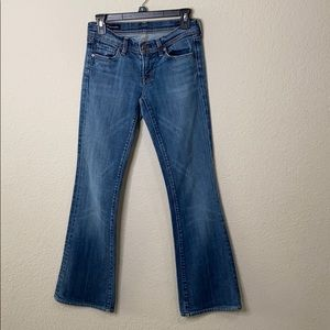 Citizen of Humanity Ingrid Low Waist Flare Jeans